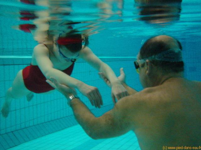 comment apprendre 0 nager