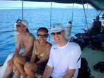 Cool les vacances… sur le bateau à la rencontre des dauphins.
